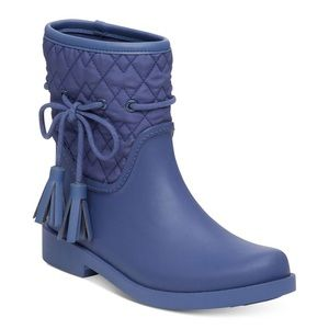 12M Jessica Simpson Racyn Women Round Toe Synthetic Rain Boot